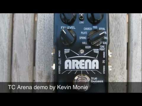 TC Electronic Arena Pedal Demo by Kevin Monie