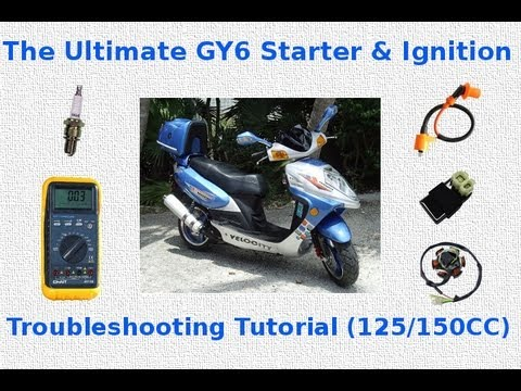 GY6 - If your GY6 scooter will not start, then look no further than this video to discover the solution to your problem. This video covers everything in a step by ...