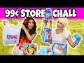 DOLLAR STORE CHALLENGE (We do a 99 cent Only Store Haul)