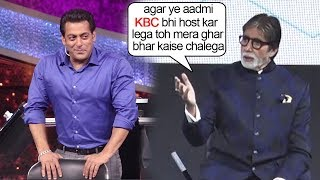 Video Amitabh Bachchan Gets SCARED Of Salman Khan Replacing Him As KBC Host After 10 Ka Dum success MP3, 3GP, MP4, WEBM, AVI, FLV Desember 2018
