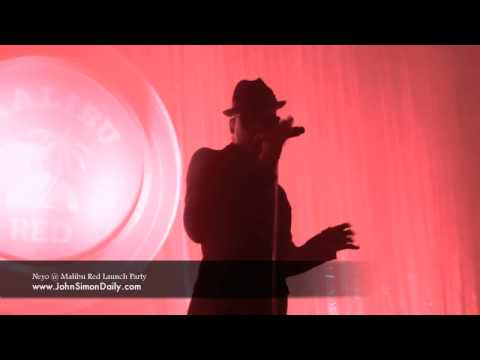 Neyo Performing at Malibu Red Launch Party 1