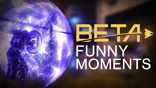 Destiny 2 Beta Funny Moments (Sentinel)