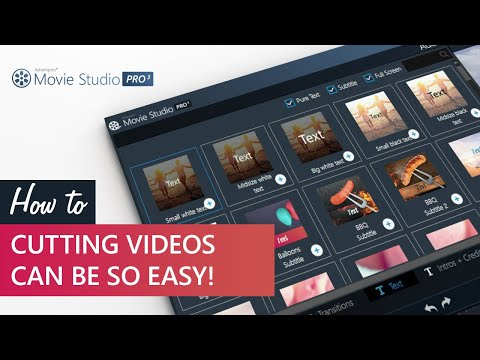 Ashampoo Video Tutorial: Cutting videos can be so easy
