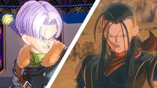 Dragon Ball Xenoverse 2: Super 17 VS Trunks - Full Match (1080 60fps) by IGN