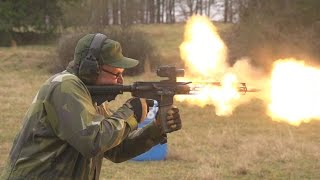 In this video we attempt to burn out an AR-15 upper on an M16 lower. We are testing the durability of not only the upper receiver ...