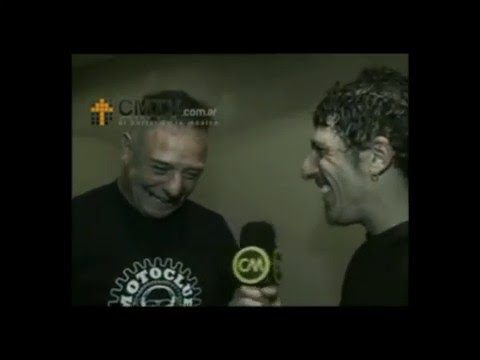 Almafuerte video Iorio presenta disco solista - Entrevista 2008