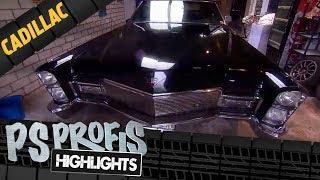 Best of PS Profis:Stolze 5,70 Meter misst dieser Cadillac DeVille Big Block, der im Jahre 1968 das Licht der Welt erblickt hat. Das Riesencabrio mit den damals übermodernen elektrischen Fensterschiebern hat außerdem einen 375PS V8-Motor an Bord.► Jetzt Abonnieren: http://bit.ly/1mrtFgr► Folge uns auf Facebook http://on.fb.me/1p71Pr1► Hier geht's zum Mediencenter:  http://bit.ly/1qwljJq