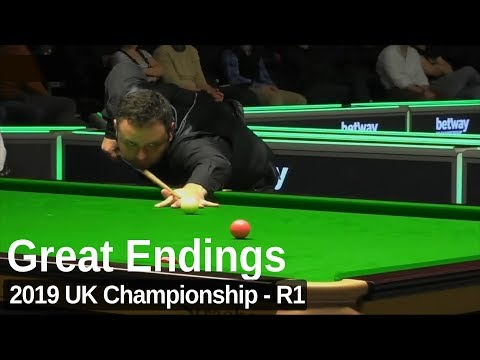 Four Exciting Frame Endings | 2019 UK Championship - Round 1