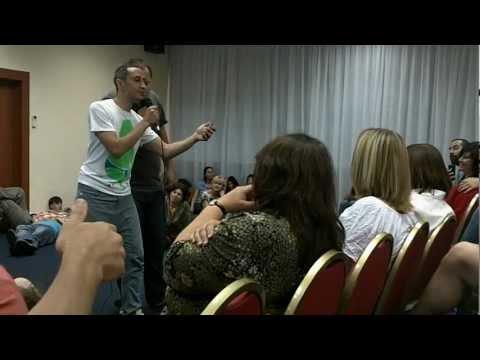 Bishoy Gendi Sharing The Gospel of Grace - St. Petersburg, Russia