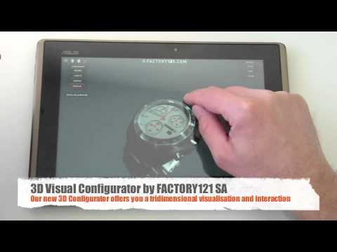Video of 3D Watch Configurator 121TIME