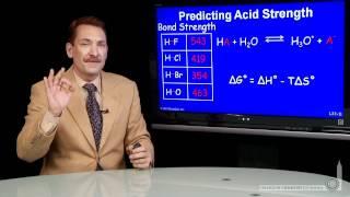 Predicting Acid Strength