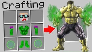 Video SENENGNYA BAPAK GILE JADI HULK DENGAN KEKUATAN SUPERPOWER DI MINECRAFT! MP3, 3GP, MP4, WEBM, AVI, FLV September 2018