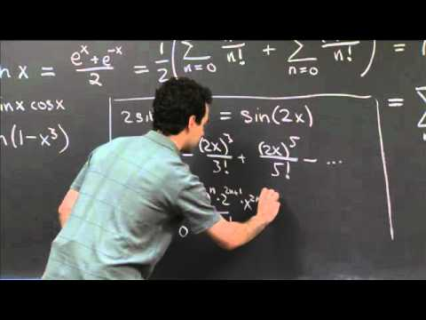 Finding Taylor's Series | MIT 18.01SC Single Variable Calculus, Fall 2010