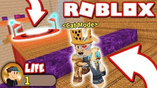 I BEAT THIS OBBY IN ONE LIFE... as a CAT?! (Roblox)