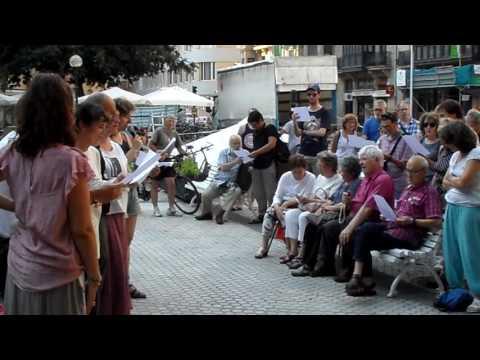 17/06/21 Bertsotan, erraustegiaren aurkako gose greba amaieran