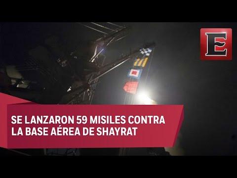 EU bombardea puntos clave del gobierno sirio
