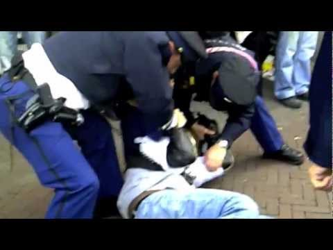 POLICE BRUTALITY IN THE NETHERLANDS.m4v