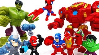 Video Hulk VS Hulkbuster~! Marvel Avengers Super Hero Mashers Micro - ToyMart TV MP3, 3GP, MP4, WEBM, AVI, FLV Juli 2018