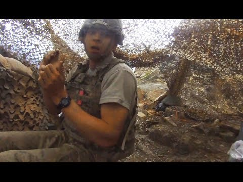 bomb - More combat footage not on YouTube at FUNKER530.com - http://vid.io/xGB Paktika Province, Afghanistan - After spotting Taliban forces on a distant ridge line...