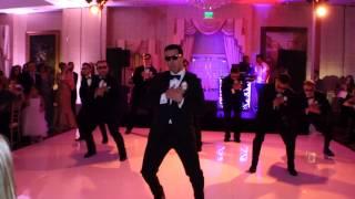 Taniec niespodzianka na weselu.