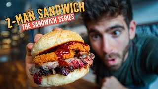 Recreating Paul Rudd's favorite KC sandwich completely from scratch by Brothers Green Eats