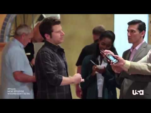 "Psych season 7 episode 10 Promo ""The Santabarbarian Candidate"""