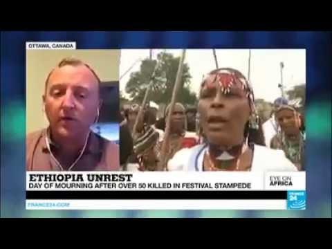 የበርካቶች ሕይወት የጠፋበት የኢሬቻ በዓል አከባበር አስመልክቶ France24 የዘገበው