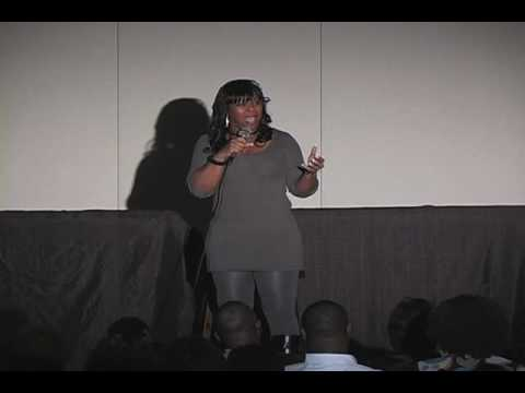 Comedian Sheree Luckett Performs at Funny First Saturdays