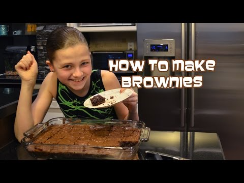 How To Make Brownies   In The Kitchen With Bethany G