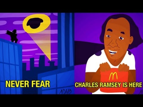 STREAM - Are viral memes like Charles Ramsey and Sweet Brown lighthearted snapshots of popular culture or racist caricatures of African Americans?