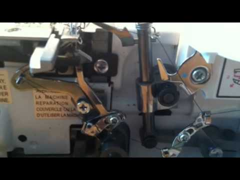 How to fix timing on serger