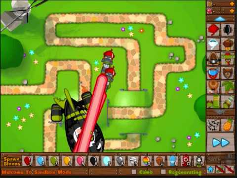 Bloons Tower Defense 5- 2 Doom Rays vs. Z.O.M.G.