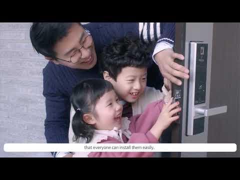 Smart door lock BABA-8201