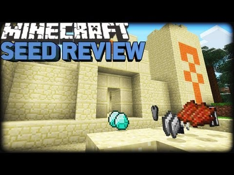Minecraft 1.8 Seeds: 15 DIAMONDS, 3 EMERALDS & EPIC TERRAIN!!