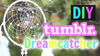 DIY Tumblr Dreamcatcher Tutorial!! | Gillian Bower - YouTube