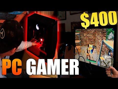 LA PC GAMER MÁS BARATA! | Fortnite y todos los juegos a 60FPS | Menos de $400 dolares!