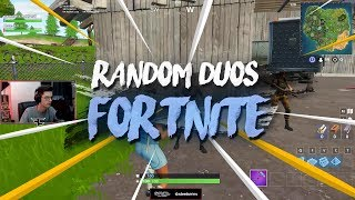New FaZe Member? (Random duos on Fortnite)