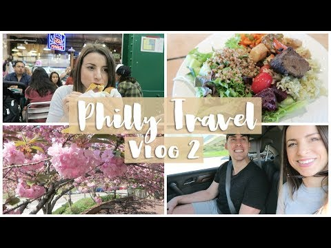 Nutrition - What I Eat in a Day in Philly Travel Vlog  NIK + MATT 57