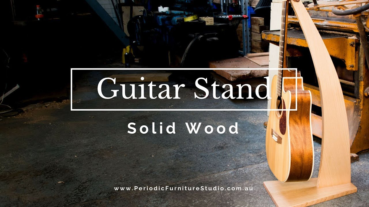 Making Designer Guitar Stands