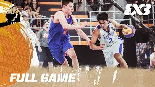 Watch the full game between the Philippines and Netherlands from the first day of the FIBA 3x3 U18 World Cup. Subscribe to the FIBA3x3 channel: ...
