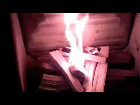 comment demarrer un feu de poele