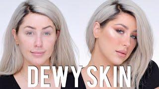 Dewy Skin + Freckles Makeup Tutorial by Chrisspy
