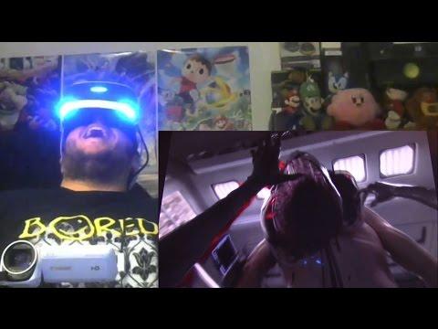 """Gors Alien: Covenant """"In Utero"""" 360 VR Reaction w/ PS VR"""