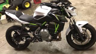 3. 2017 Kawasaki Z650 abs Two Brothers Exhaust