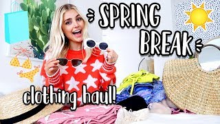 SPRING BREAK CLOTHING HAUL! Asos, Urban Outfitters & More! by Aspyn + Parker