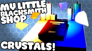 Let's Play My Little Blacksmith Shop! The new My Little Blacksmith Shop Alpha is UPDATED to 0.0.81! It adds in Smelting, Pickaxes and tools! Josh explores the new map and finds the Dark Crystal, Light Crystal, Water and Fire Crystals and tries to find out of they do anything!Download My Little Blacksmith Shop for free on PC:https://dasius.itch.io/my-little-blacksmith-shop?ac=ox5j9VQFMy Little Blacksmith Shop Gameplay Playlist:https://www.youtube.com/playlist?list=PLX1cB1BI8l6k5aXFClKo_5ZnMon3eCEUy---➤Buy a Shirt! - http://shop.spreadshirt.com/GamingFTL➤Support Josh's video creation - http://www.patreon.com/GamingFTL➤Stalk me on Twitter - https://twitter.com/GamingFTL➤Join the Discord community -  https://discord.gg/XnvRSW7If I say something that bothers or you or that you think was ill-considered, please let me know. I can't promise to be perfect, but I can promise to try to listen, learn, and apologise when I screw up. ✌---