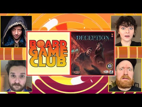 Let's Play DECEPTION: MURDER IN HONG KONG | Board Game Club