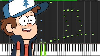 Gravity Falls Medley [Piano Tutorial]