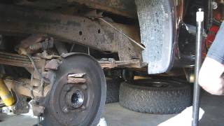 03 Ford F150 Rear Axle Seal/Bearing Replacement Part 5 - Bearing/Seal Installation
