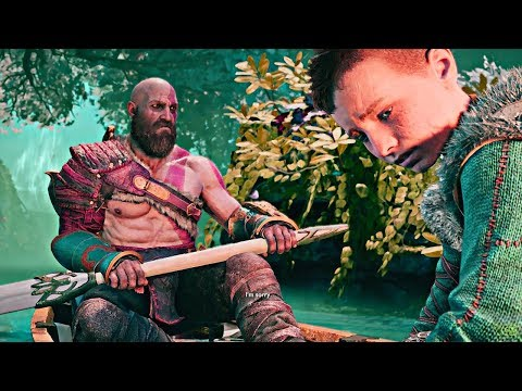 God of War - Kratos Mourns in his Own Way (видео)